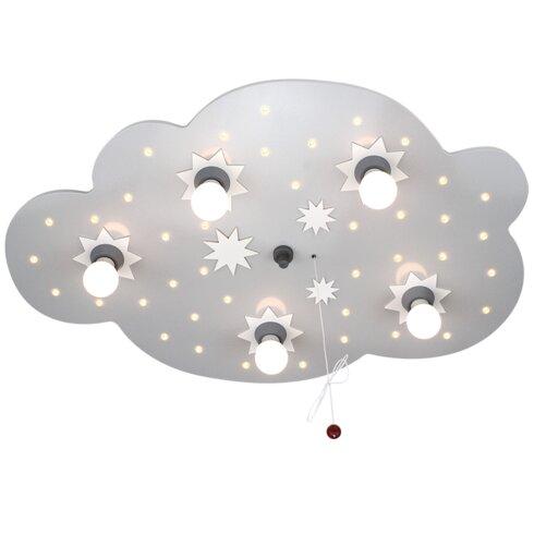 Deckenleuchte 5-flammig Cloud