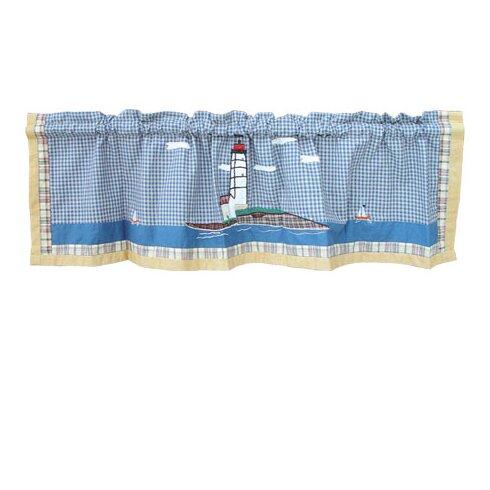 "Lighthouse By Bay 54"" Curtain Valance"