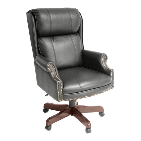 Ivy League High-Back Leather Executive Chair