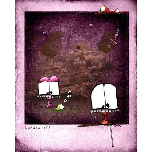 Choukchouk by Ds Kamala Graphic Art Wrapped on Canvas
