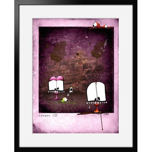 Choukchouk by Ds Kamala Framed Graphic Art