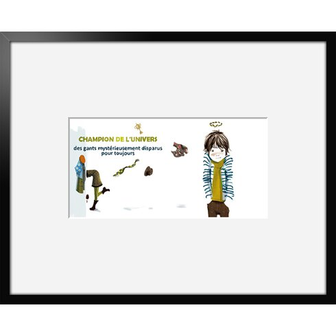 Champion 10 by Griotto and Marcella Framed Graphic Art