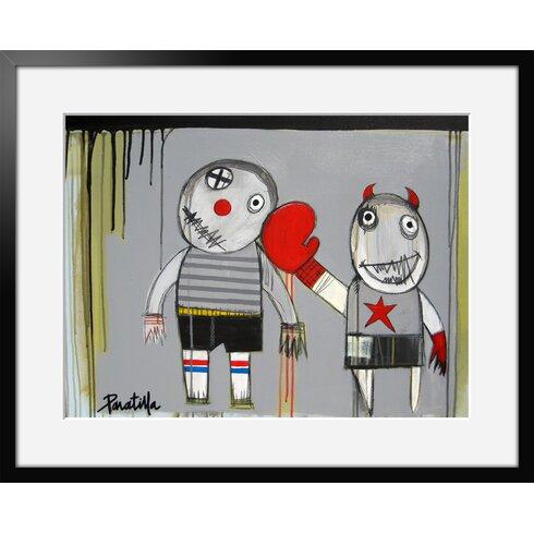 Bang Bang by Paratilla Framed Art Print