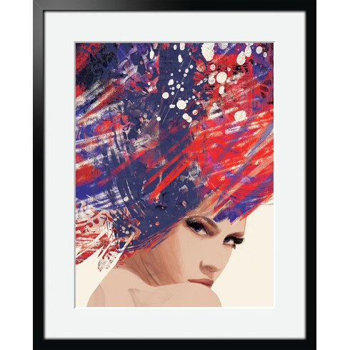 London by Klassen Framed Graphic Art