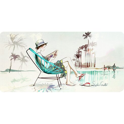 Summer by Mlle Bulle Graphic Art on Canvas