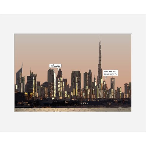 Surprise by Philippe Matine Framed Graphic Art