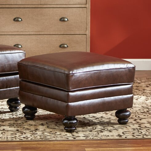 Three Posts Croydon Bonded Leather Storage OttomanReviews