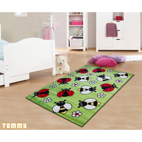 Max Red Area Rug