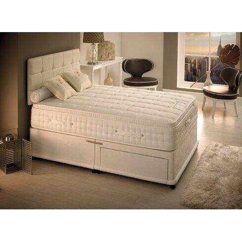 Newson Latex Foam 1500 Divan Bed