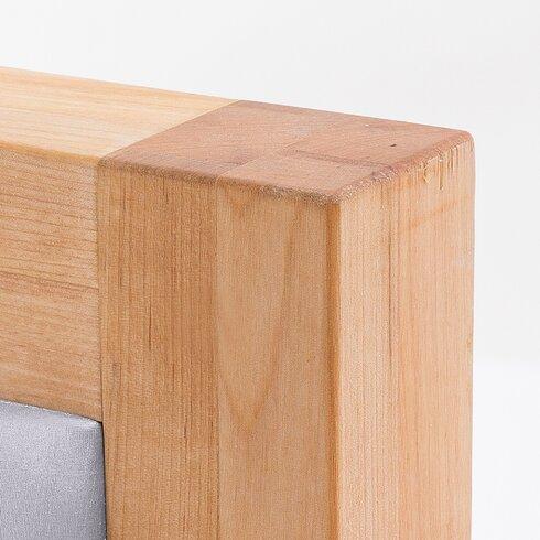 Massivholzbett Carris, 180 × 200 cm