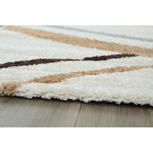 King Cream Area Rug