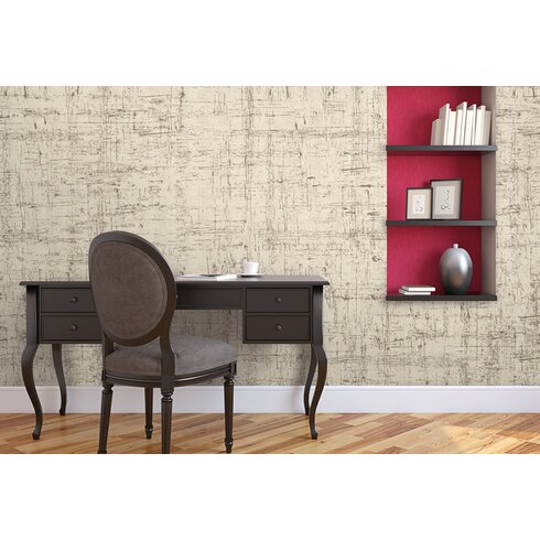 Ambiance 2.5m L x 95cm W Abstract Distressed Tile/Panel Wallpaper