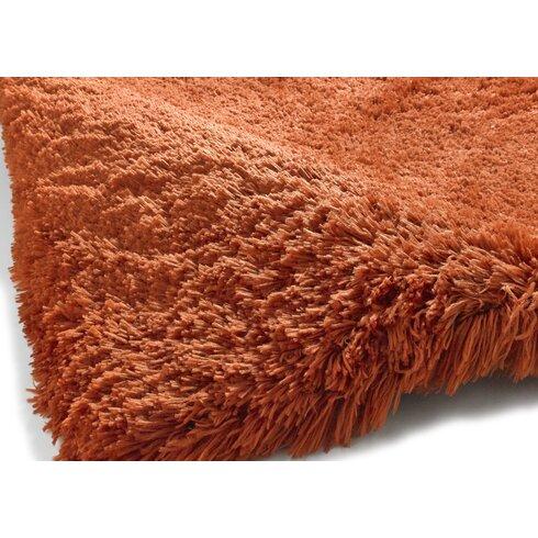 Handgefertigter Teppich Polar in Terra