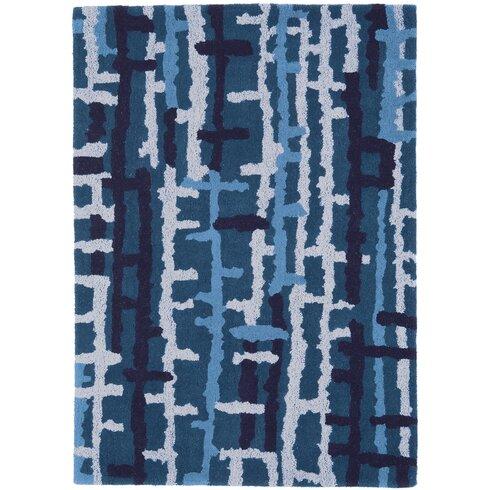 Matrix Blue Area Rug