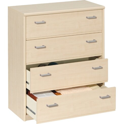 Soft Plus 4 Drawer Chest of Drawers