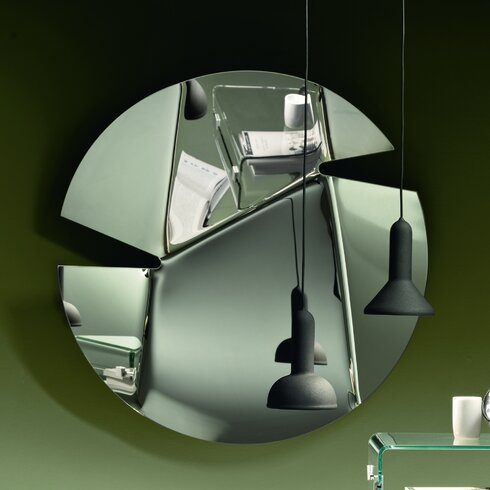 Hasami Round Hanging Mirror