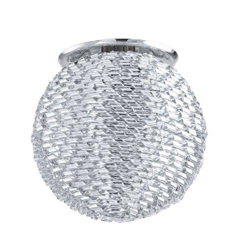 Tortoli 1 Light Semi-Flush Ceiling Light