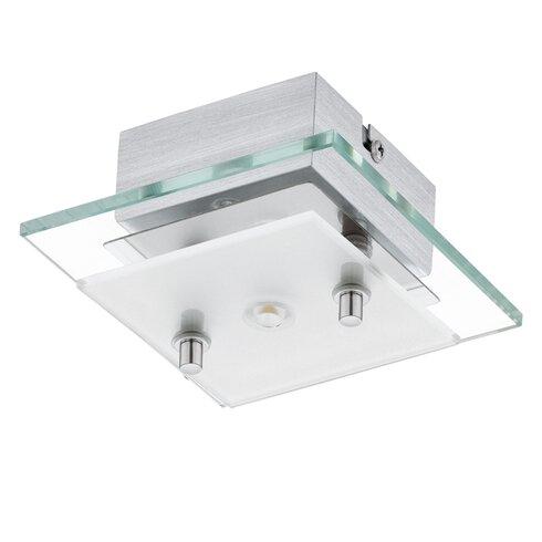 Fres 1 Light Semi Flush Ceiling Light
