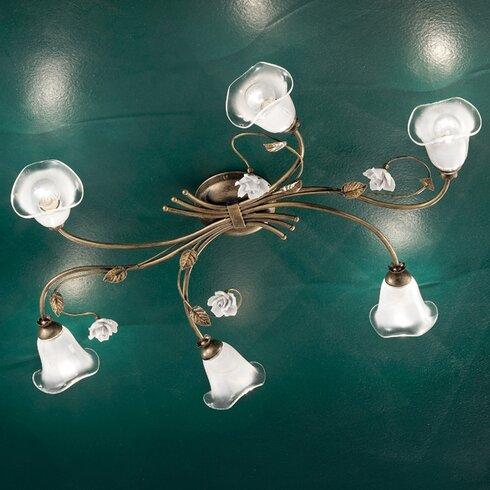 Siena 6 Light Ceiling Light