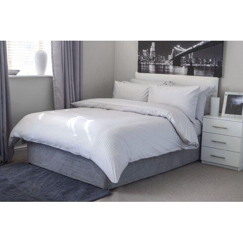Hotel Suite Satin Stripe Continental Pillowcase