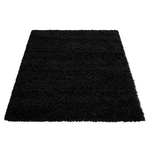 Cosy Black Area Rug