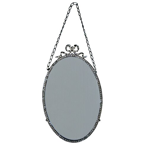 Riley Bow Mirror on Chain
