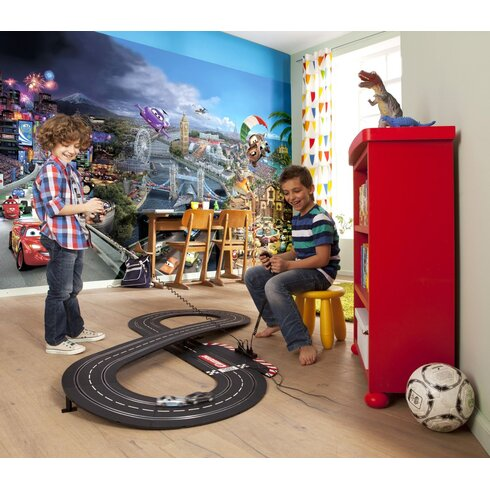 Cars World 3.68m x 254cm Wallpaper Panel