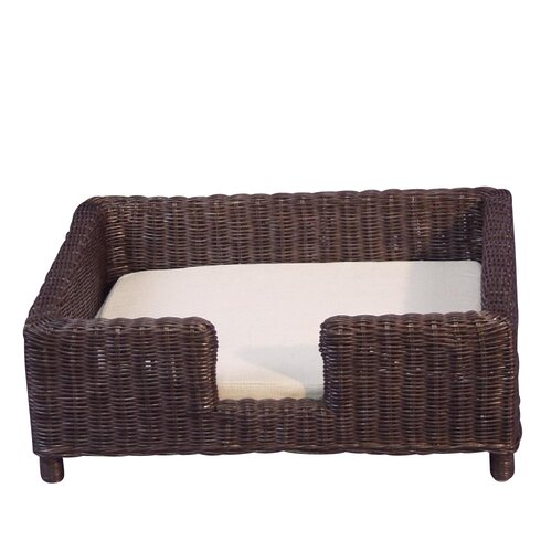 Dog and Cat Basket with Cushion