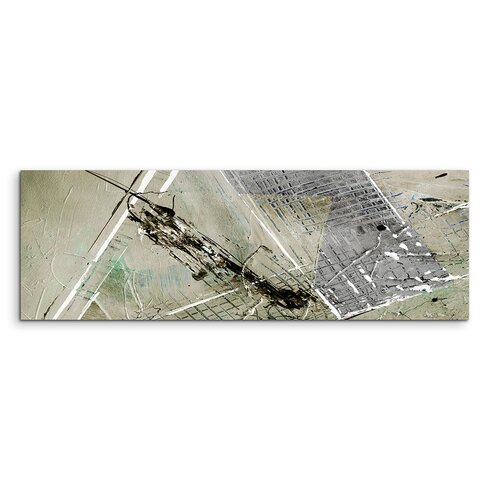 Enigma Panorama Abstrakt 873 Framed Graphic Print on Canvas