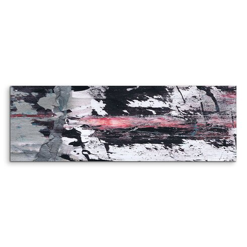 Enigma Panorama Abstrakt 883 Framed Graphic Print on Canvas