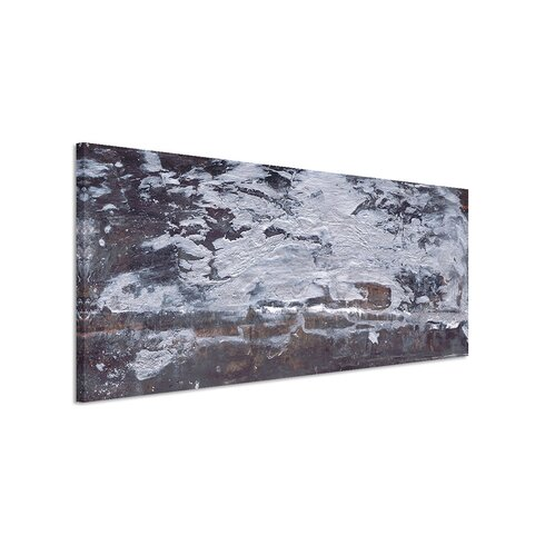 Enigma Panorama Abstrakt 629 Framed Graphic Print on Canvas