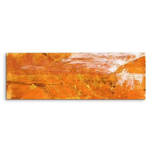 Enigma Panorama Abstrakt 634 Framed Graphic Print on Canvas