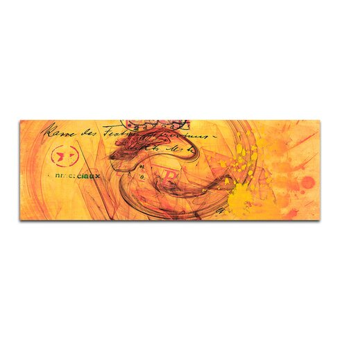 Enigma Panorama Abstrakt 104 Framed Graphic Print on Canvas