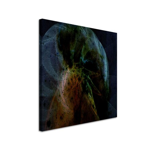 Abstract 1015 Enigma Framed Graphic Print on Canvas