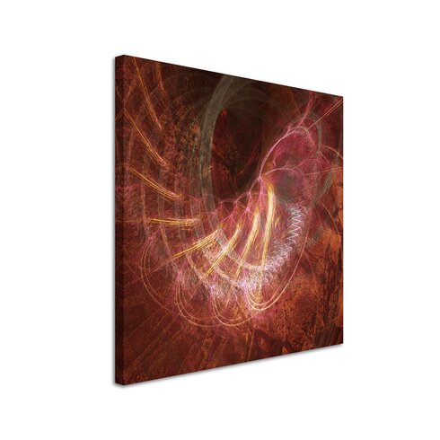 Enigma Abstract 1156 Framed Graphic Art