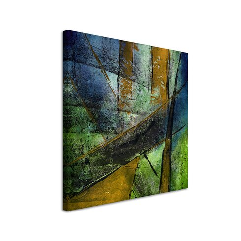 Enigma Abstract 979 Framed Graphic Art
