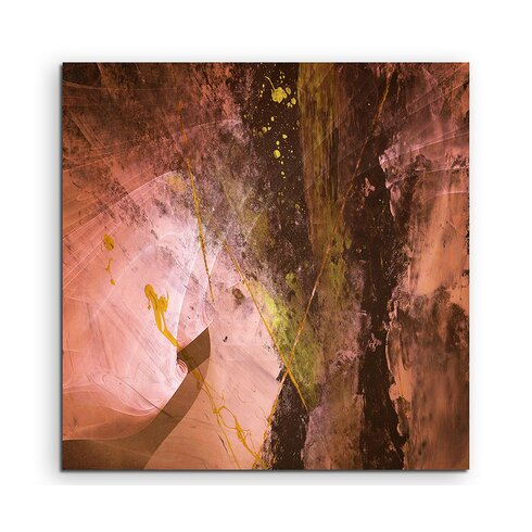 Abstract 1183 Enigma Framed Graphic Print on Canvas