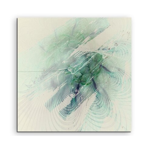 Abstract 1287 Enigma Framed Graphic Print on Canvas