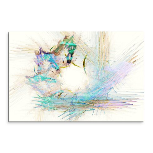 Enigma Abstrakt 1103 Framed Graphic Print on Canvas