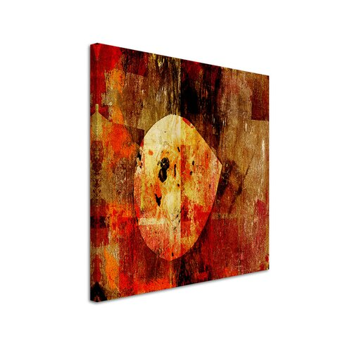 Abstract 954 Enigma Framed Graphic Print on Canvas