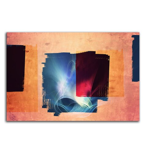 Enigma Abstrakt 137 Framed Graphic Print on Canvas