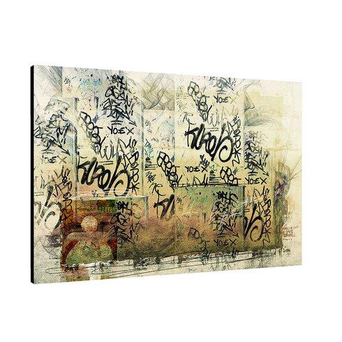 Enigma Abstrakt 313 Framed Graphic Print on Canvas