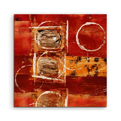 Enigma Abstrakt 683 Framed Graphic Print on Canvas