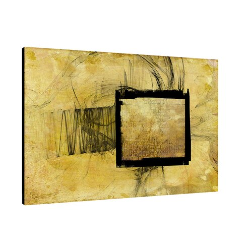 Enigma Abstract 373 Framed Graphic Art