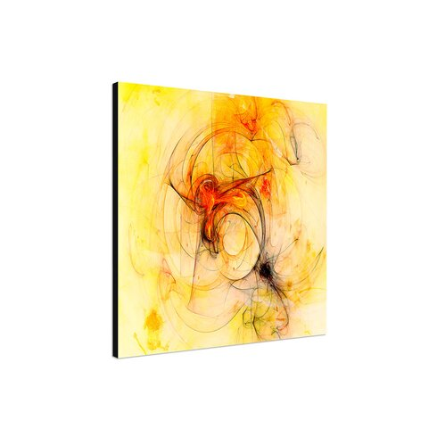 Enigma Abstrakt 233 Framed Graphic Print on Canvas