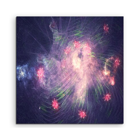 Enigma Abstrakt 1018 Painting Print on Canvas