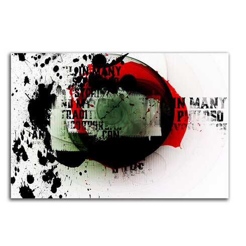 Enigma Abstrakt 058 Painting Print on Canvas
