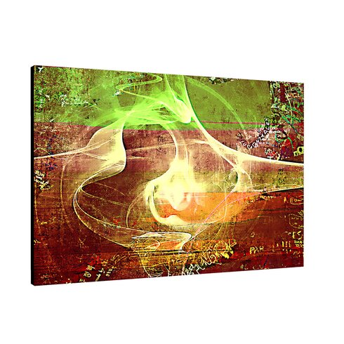 Enigma Abstrakt 013 Painting Print on Canvas