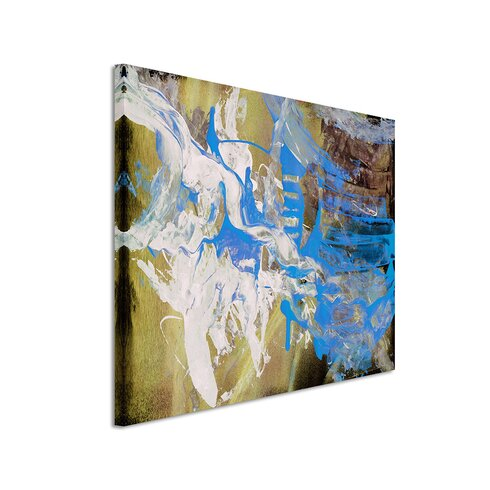 Enigma Abstrakt 620 Painting Print on Canvas