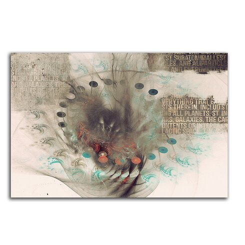 Enigma Abstrakt 409 Painting Print on Canvas
